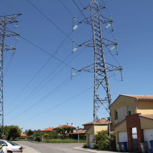 Pylône électrique argema formation